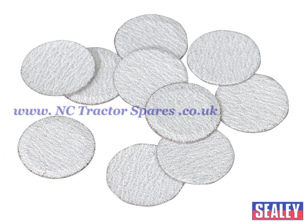 Sanding Disc 50mm 60Grit Pack of 10.